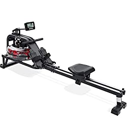 Rowing machine guide