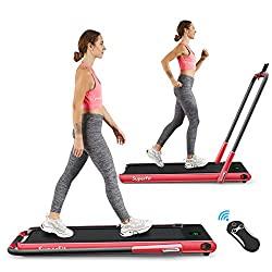 GOPLUS 2-in-1 Treadmill